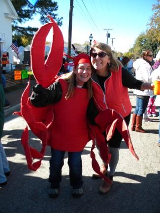 Crab lady