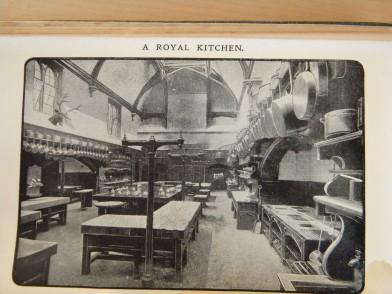 A Royal Kitchen - the kitchen at Windsor Castle
