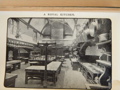 A Royal Kitchen - the kitchen at Windsor Castle