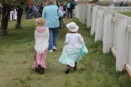The littlest reenactors