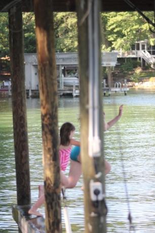 Jumping girls