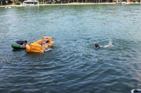 Floating children
