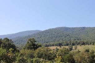 The Blue Ridge, up close
