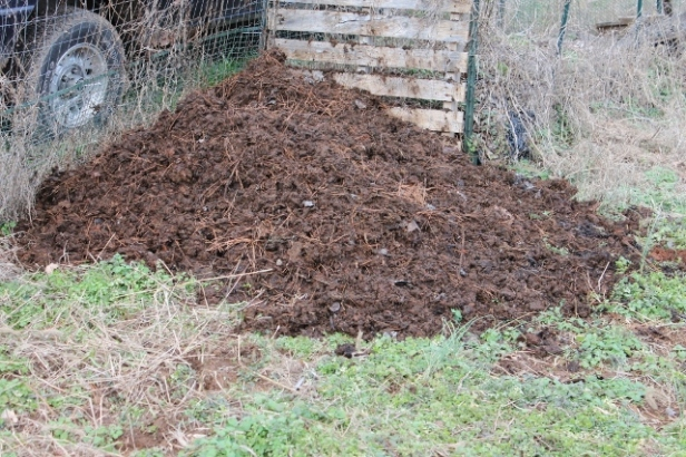 A rathering pleasing pile of manure.