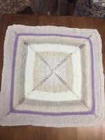 Baby blanket I knit